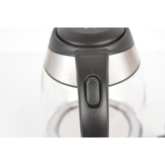 Ấm đun siêu tốc inox 304 điện tử 1.7 lít Happy Cook HEK-170D
