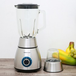 Máy Xay Sinh Tố Cối Thuỷ Tinh 1.5 Lít Happy Cook HCB-150S