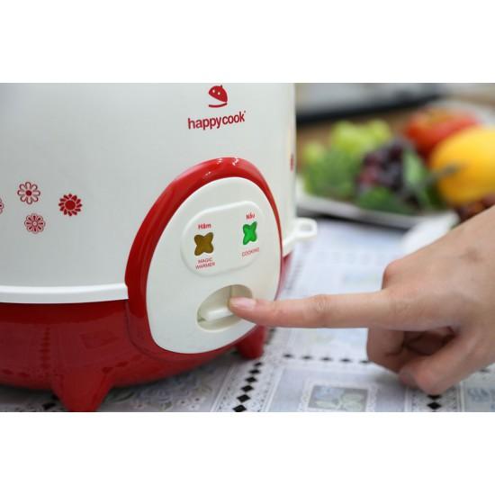 Nồi Cơm Điện Nắp Gài 1.2 Lít Happy Cook HC-120(R)