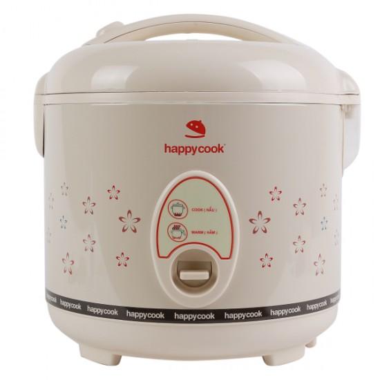 Nồi Cơm Điện Nắp Gài 1.8 Lít Happy Cook HC-180