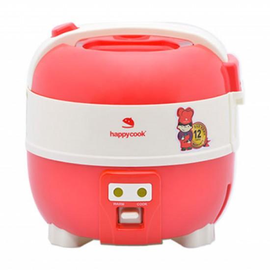 Nồi Cơm Cơ Điện Nắp Gài Happycook 1lít HC-100(Đỏ)