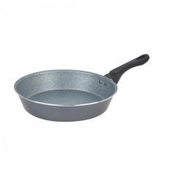 Chảo Vân Đá Bếp Từ Siêu Bền 26cm Happy Cook MFP-26IH Gray