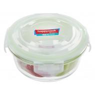 Hộp Thuỷ Tinh Hình Tròn 400ml Happy Cook Glass HCG-040C